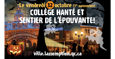 L'Halloween au Collège hanté et sur le sentier de l'épouvante