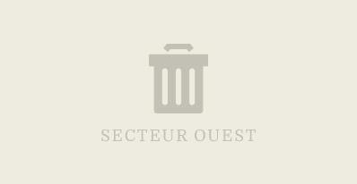 Collecte des déchets domestiques (secteur Ouest)