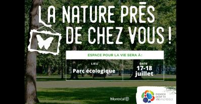 La nature près de chez vous | Espace pour la vie