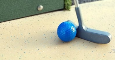 Mini-golf à la biblio