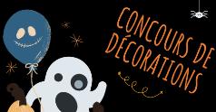 Un concours de décorations pour célébrer l'Halloween différemment!