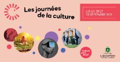 Journées de la culture | Lancement de la programmation 2021