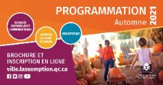 Lancement de la programmation automne 2021